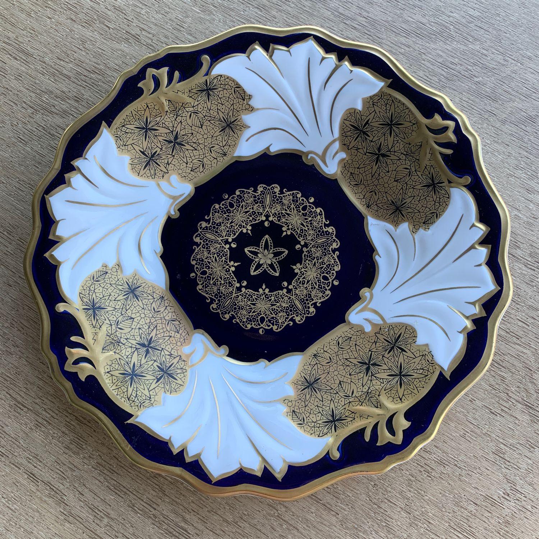 Gorgeous dish-a plate, Weimar, 1960-1970 (4985), Vintage plates, Tyumen,  Фото №1