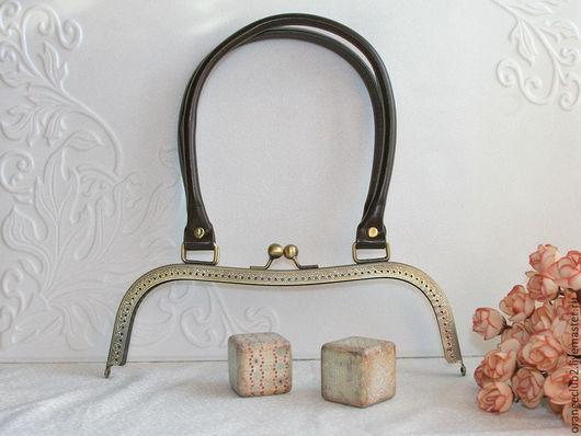 Другие виды рукоделия ручной работы. Ярмарка Мастеров - ручная работа. Купить 27 см Фермуар с ручками. Handmade. Фермуар