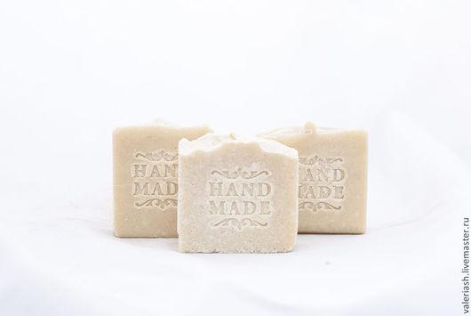 """Мыло ручной работы. Ярмарка Мастеров - ручная работа. Купить Натуральное мыло """"Соляное"""". Handmade. Белый, мыло с эфирными маслами"""
