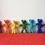 Куклы и игрушки ручной работы. Ярмарка Мастеров - ручная работа Радужная семья. Handmade.