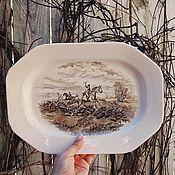 Винтаж handmade. Livemaster - original item Copeland Spode ancient dish, England. Handmade.