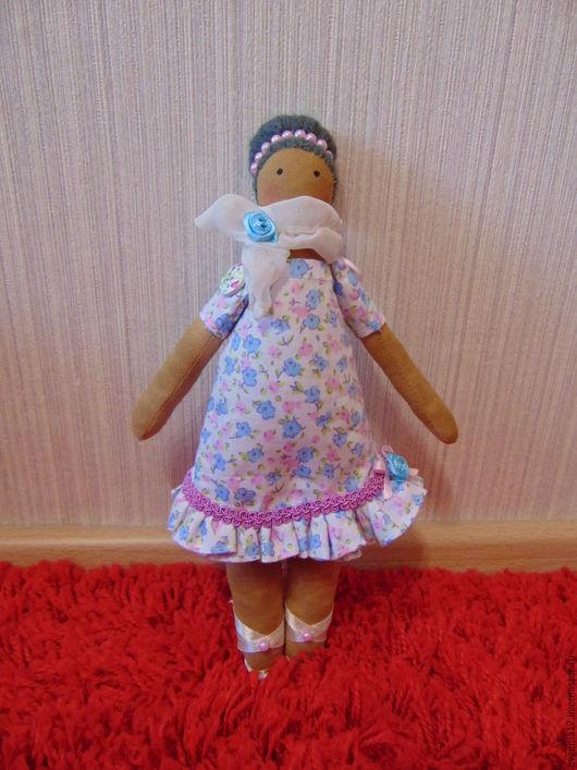 """Куклы Тильды ручной работы. Ярмарка Мастеров - ручная работа. Купить Кукла тильда """"Фифи"""". Handmade. Коричневый"""
