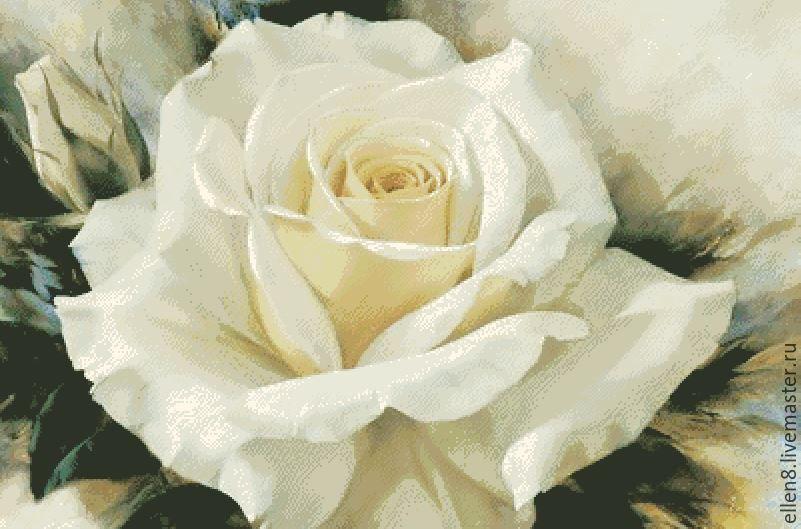 Вышивка крестом. розы. готовые работы