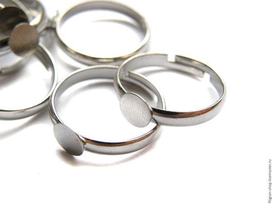 Для украшений ручной работы. Ярмарка Мастеров - ручная работа. Купить Основа для кольца. Handmade. Серебряный, основа для кольца, основа