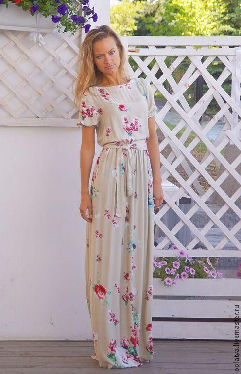 Купить платье летнее вискоза