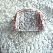 Сумки и аксессуары handmade. Livemaster - original item Patchwork cosmetic bag