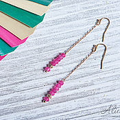 Украшения handmade. Livemaster - original item Long earrings