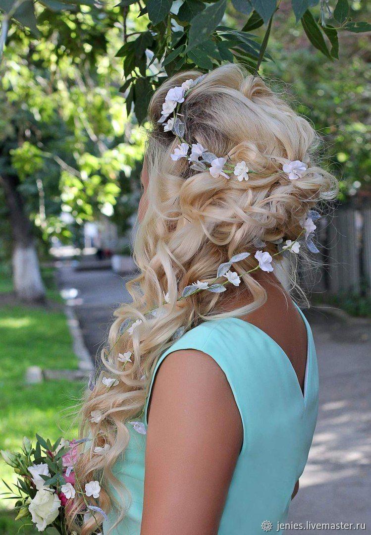 Bridal floral crown Flower crown wedding Rustic flower crown, Wedding veils, Tomsk,  Фото №1