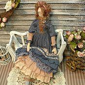 Куклы и игрушки ручной работы. Ярмарка Мастеров - ручная работа Кукла в стиле Бохо: Дарина (текстильная кукла в винтажном стиле). Handmade.