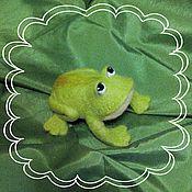 Куклы и игрушки ручной работы. Ярмарка Мастеров - ручная работа лягушка Царевна. Handmade.