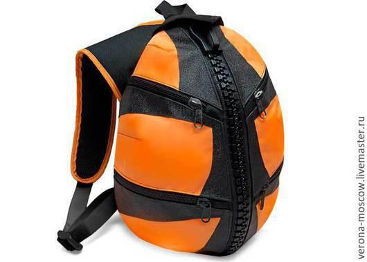 Рюкзаки ручной работы. Ярмарка Мастеров - ручная работа. Купить Рюкзак Джедай Оранжевый. Handmade. Оранжевый, рюкзак ручной работы