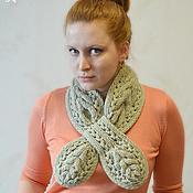 Аксессуары ручной работы. Ярмарка Мастеров - ручная работа Шарф-галстук женский. Handmade.