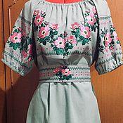 Одежда handmade. Livemaster - original item Embroidered dress
