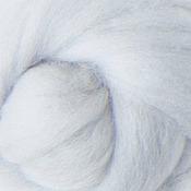Материалы для творчества ручной работы. Ярмарка Мастеров - ручная работа Меринос 16 мк окрашенный - цвет Жемчужина. Handmade.