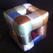 Для дома и интерьера ручной работы. Ярмарка Мастеров - ручная работа Подушка-кубик. Handmade.