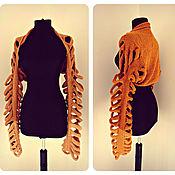 Одежда ручной работы. Ярмарка Мастеров - ручная работа Болеро вязаное спицами. Handmade.