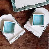 Посуда ручной работы. Ярмарка Мастеров - ручная работа набор для суши `бумажные свитки`. Handmade.