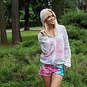 Одежда handmade. Livemaster - original item Summer jacket boho crochet. Handmade.