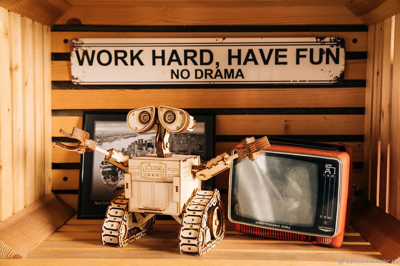 Robot VALLEY. designer wood, Machines and robots, St. Petersburg,  Фото №1