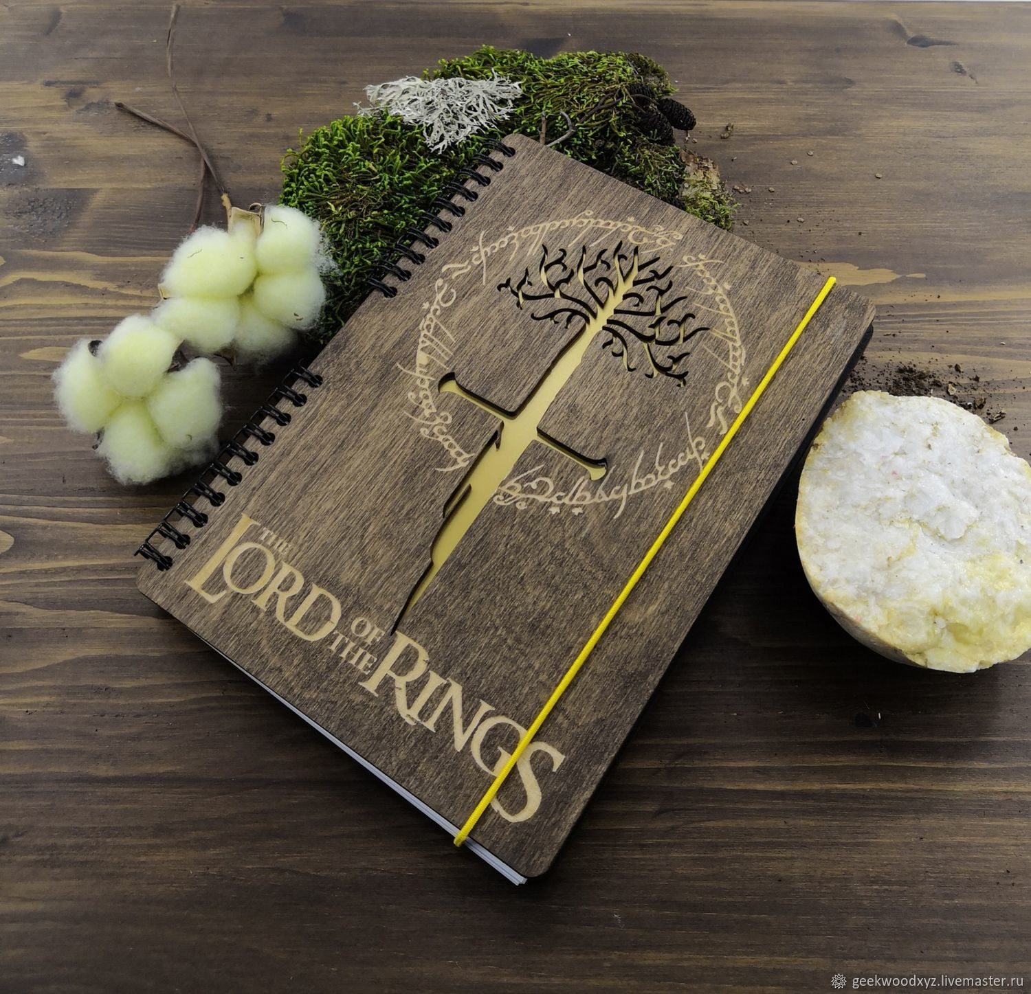 The Lord of the rings Lord of the rings Wood Notepad / Sketchbook, Notebooks, Krasnodar,  Фото №1