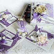 Свадебный салон ручной работы. Ярмарка Мастеров - ручная работа Свадебная коробочка для денег, Magic Box. Handmade.