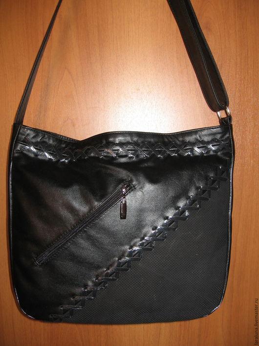 """Женские сумки ручной работы. Ярмарка Мастеров - ручная работа. Купить Кожаная сумка """" И будет новый день"""". Handmade."""