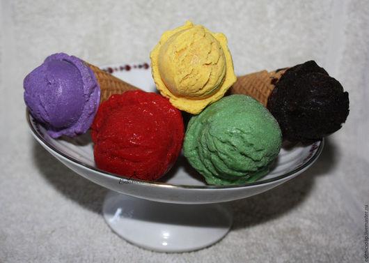 Мыло- мороженое. Подарок сладкоежкам. Мыло-прикол.Edenicsoap.