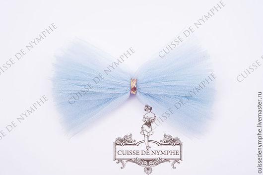 Шитье ручной работы. Ярмарка Мастеров - ручная работа. Купить Фатин Льдисто-голубой (Ice blue), KRST-1011. Handmade.