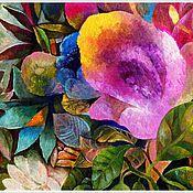 """Картины и панно ручной работы. Ярмарка Мастеров - ручная работа """"Цветы"""" (серия работ) Холст, масло.. Handmade."""