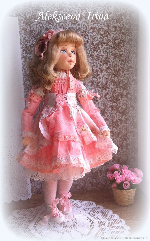 Текстильная кукла Лорена, Куклы и пупсы, Челябинск,  Фото №1
