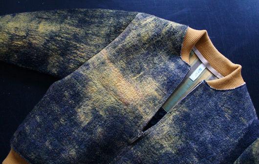 Одежда ручной работы Felt&Paper куртка бомбер