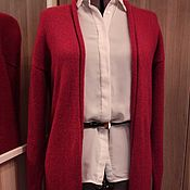 """Одежда ручной работы. Ярмарка Мастеров - ручная работа Кардиган """"Рубин"""". Handmade."""