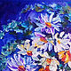 Oil painting of chamomile in a vase ' Daisies'. Pictures. Svetlana Samsonova. My Livemaster. Фото №4