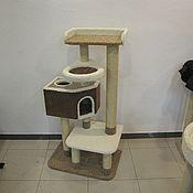 """Для домашних животных, ручной работы. Ярмарка Мастеров - ручная работа Комплекс для кошек  """"Каскад"""". Handmade."""