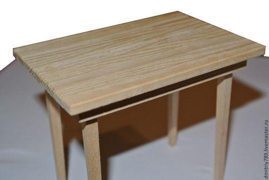 Кукольный дом ручной работы. Ярмарка Мастеров - ручная работа. Купить Кукольный стол. Handmade. Столик, клён