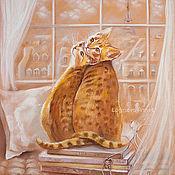 Картины и панно ручной работы. Ярмарка Мастеров - ручная работа Теплый Париж. Handmade.