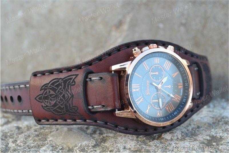 9c2b2bf6 Купить Кожаный ремешок для часов № · Часы ручной работы. Кожаный ремешок  для часов №11. Master Wallet. Интернет- ...