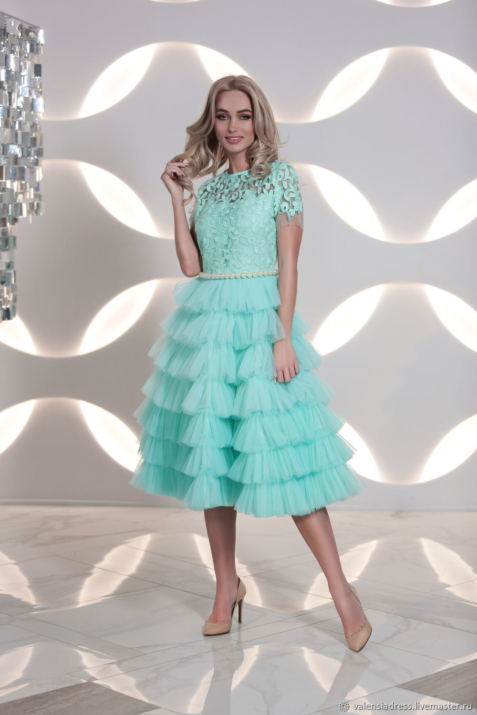dresses: Mint prom dress, Dresses, St. Petersburg,  Фото №1