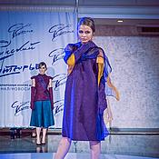 """Одежда ручной работы. Ярмарка Мастеров - ручная работа Авторское валяное платье """"Thingvellir"""". Handmade."""