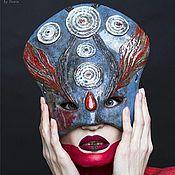 Для дома и интерьера ручной работы. Ярмарка Мастеров - ручная работа Декоративная маска. Handmade.