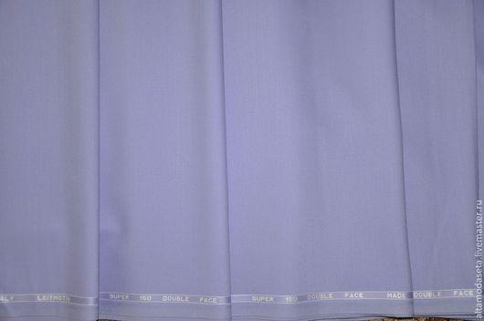 Шитье ручной работы. Ярмарка Мастеров - ручная работа. Купить Костюмная шерсть Leitmotiv super 150. Handmade. Бледно-сиреневый
