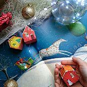 Домики ручной работы. Ярмарка Мастеров - ручная работа Ёлочные игрушки. Handmade.