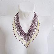 Украшения handmade. Livemaster - original item Necklace scarf bead