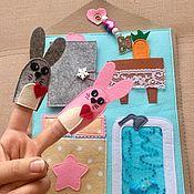 Куклы и игрушки handmade. Livemaster - original item The tablet developing from felt