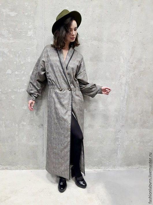 """Верхняя одежда ручной работы. Ярмарка Мастеров - ручная работа. Купить Пальто женское на подкладке """"Природный стиль"""". Handmade."""