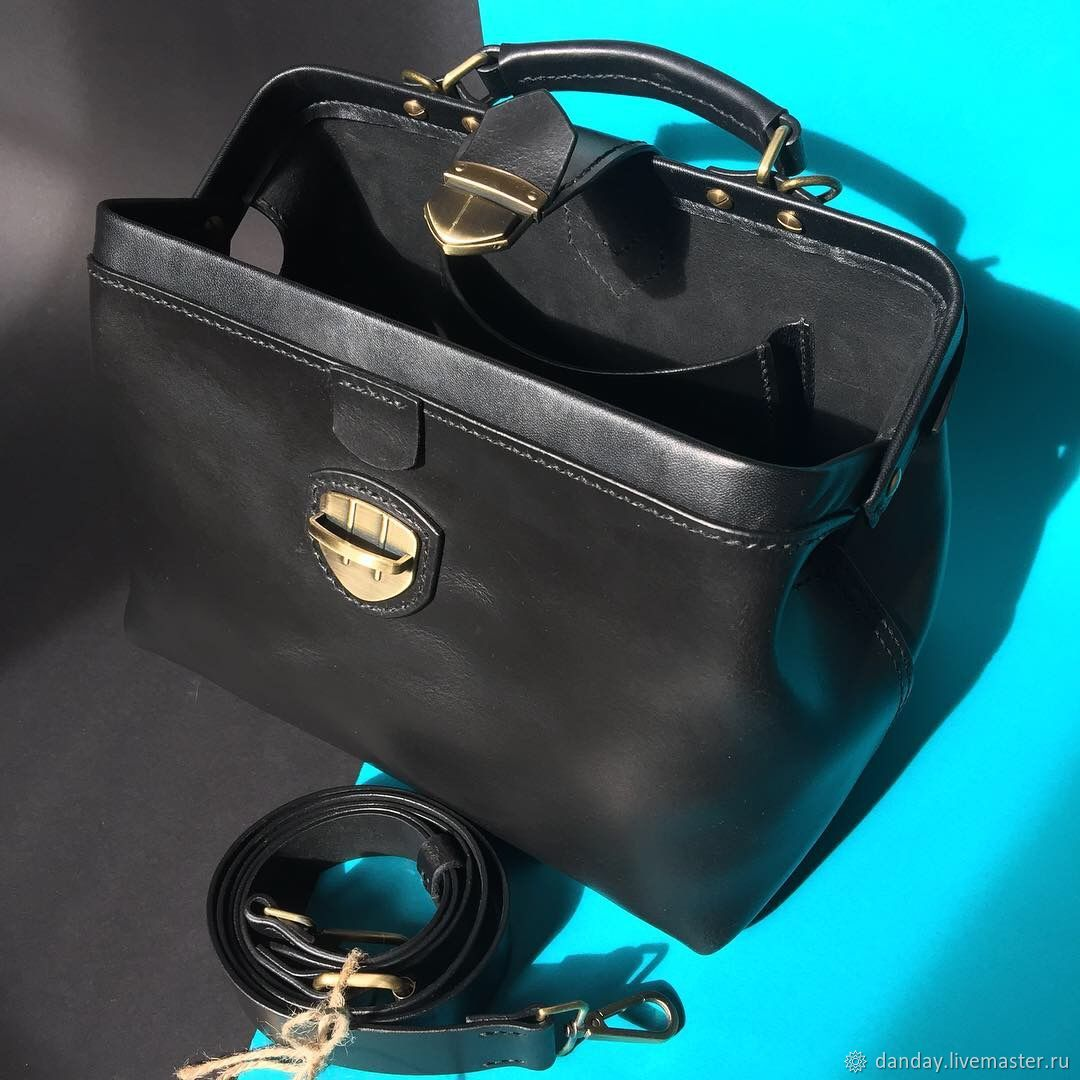 Женские сумки ручной работы. Ярмарка Мастеров - ручная работа. Купить Саквояж. Handmade. Кожа, повседневная сумка