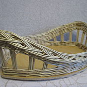 Для дома и интерьера handmade. Livemaster - original item set of trays 2 pieces of willow vines. Handmade.