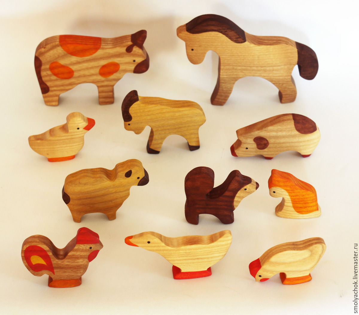 Деревянная игрушка из дерева