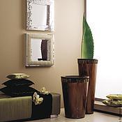 Для дома и интерьера handmade. Livemaster - original item mirror in mosaic frame, combined. Handmade.