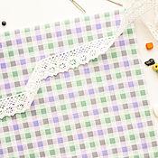 Материалы для творчества ручной работы. Ярмарка Мастеров - ручная работа (№54)Ткань перкаль хлопок 100% для тильды, шитья и пэчворка. Handmade.